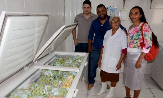 A aposentada Isabel Alves Marculino, começou com uma pequena fábrica caseira de iogurte natural e, com apoio do Ruraltins, atualmente emprega dois netos e já vende os produtos para os municípios de Ponte Alta e Taguatinga