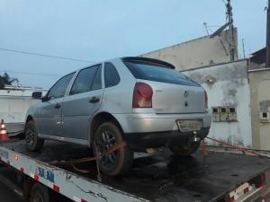PM apreendeu veículo com suspeitos em Araguaína