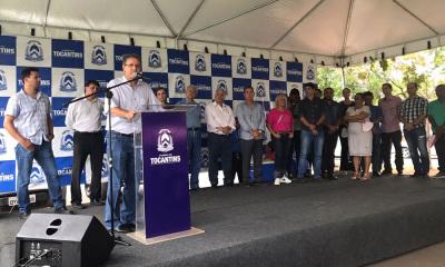 O governador Marcelo Miranda destacou que as obras no Parque Agroindustrial José Antônio de Deus fortalecem toda a cadeia produtiva do município e da região