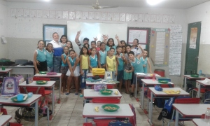 As ações contemplaram 122 alunos  do Colégio Estadual Dom Domingos Carrerot e  Escola Municipal Padre Luso Matos