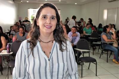 Paola Regina Martins Bruno lembrou que a interação faz parte do aprendizado