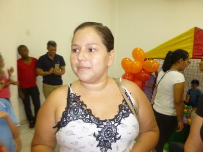 Stefanny Caroline Ribeiro afirmou que a interação das crianças garante o desenvolvimento