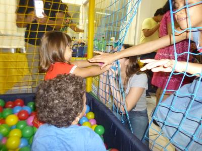 O Centro de Atendimento Educacional Especializado comemora o dia das crianças