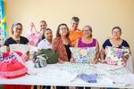 Alunas concluem curso de corte e costura do projeto Aafeto;