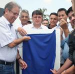 As obras de melhoria da infraestrutura do Parque Agroindustrial foram inauguradas nesta quarta
