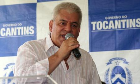O empresário José Carneiro falou em nome de todos os empresários instalados  no parque