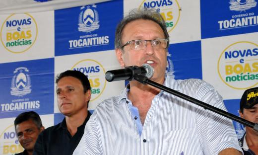Marcelo Miranda ressaltou que o governo esta pondo fim às estradas de terra pelo interior do Estado e que a obra vai beneficiar famílias, produtores e a economia local