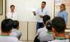 Palestrante Evandro Souza orienta colaboradores sobre assédio