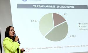 Secretária Patrícia do Amaral em abertura da 11ª Conferência Estadual de Assistência Social