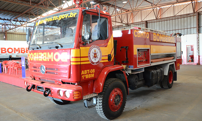 Dois veículos e equipamentos serão entregues ao Corpo de Bombeiros nesta quinta-feira