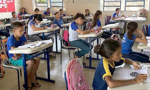 Mais de 37 mil estudantes do Estado realizaram o Simulado da Prova Brasil
