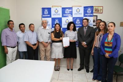 0 - Solenidade de assinatura do acordo firmado entre Secretaria de Cidadania e Justiça, por meio do Procon-TO e Unitins  - por Ademir dos Anjos.JPG