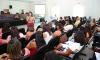 Durante o encontro com os diretores e coordenadores pedagógicos, a secretária falou cobre gestão escolar