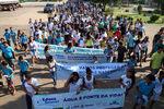 Caminhada ecológica reuniu cerca de 300 participantes