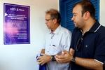 Marcelo Miranda e Eder Fernandes descerram placa de inauguração