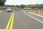 Trevo de Angico já conta com novo asfalto totalmente reconstruído