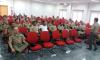 Policiais militares em reunião sobre ampliação de Polícia Comunitária em Porto Nacional