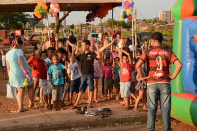 Sehab faz festa para crianças da 1.303 sul