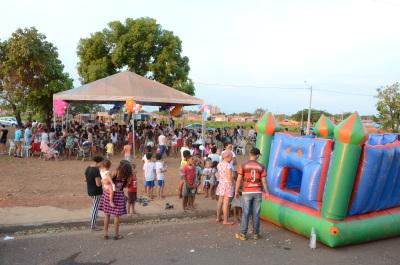 Festa foi um momento de integração da comunidade