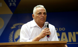 Em seu discurso, o Secretário - Chefe da Casa Militar, Coronel Raimundo Bonfim, frisou que o programa é de suma importância para uma melhor qualidade de vida dos militares