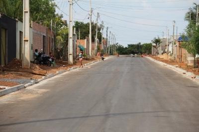 Antes do asfalto o Governo do Estado já implantou a rede de drenagem no bairro