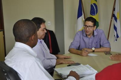 Reunião realizada na terça-feira com a comissão do Sisepe-TO