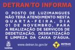 Posto Detran em Luzimangues