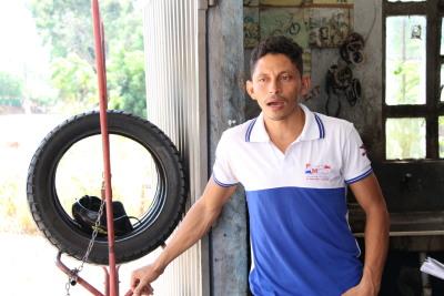 """""""Eu tinha até tristeza só de pensar que tinha que ir a Araguaína buscar as peças quando o asfalto era ruim disse o mecânico Gercival Gomes Campos"""