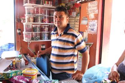 Lourival Souza Costa proprietário do Mercado Estrela D'Alva