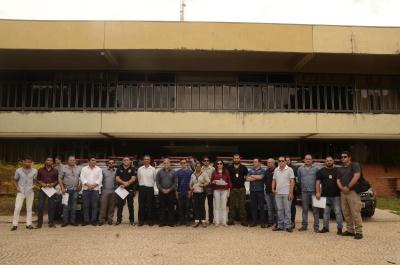 Veículos entregues na tarde desta terça-feira, 07, na sede da Seciju, em Palmas