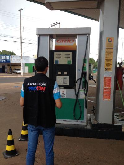 Na Capital foram notificados sete postos de combustíveis -divulgação. Ascom.jpeg