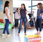 """As estudantes do 5ª ano apresentaram a peça teatral """"Caixa Mágica"""""""