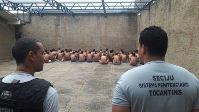 Um total de 636 pessoas, entre homens e mulheres, participou da operação.