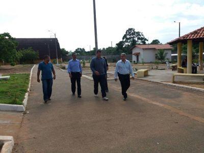 Secretário Glauber acompanhado do subsecretário Felizardo Ramos, visitou Centro de Atendimento Socioeducativo (Case).