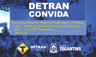 Encerramento Programa Trânsito Jovem em Palmas