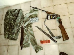 Homem foi preso com arma de fogo e objetos em Araguatins.jpeg