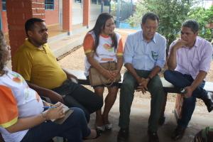 Presidente Pedro Dias  em Goianorte na Festa da Mangaba