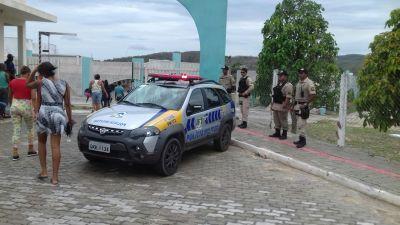 Policiais militares garantindo a segurança do Enem_400.jpg