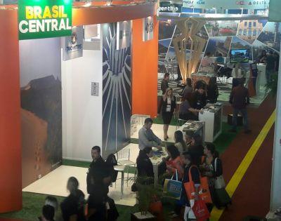 O espaço do Tocantins no estande do Brasil Central atraiu a atenção dos visitantes na Festuris Gramado