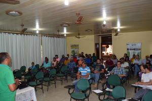 Além dos proprietários de atrativos turísticos, também compareceram ao encontro, técnicos do Naturatins, SEDEN e representantes das prefeituras de Mateiros e São Félix do Tocantins