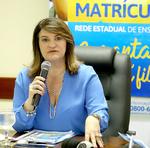 A gestora da Seduc garantiu que não faltarão vagas nas escolas estaduais em 2018
