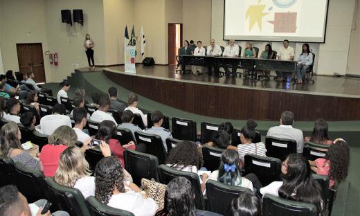 O Seminário Nós Propomos foi realizado no auditório Cuica, na Universidade Federal do Tocantins