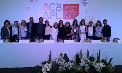 Marcondes Martins (quarto esquerda p/ direita) representou o Tocantins no evento