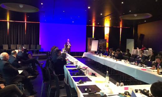 Painel contou com a presença de representantes e governadores de estados subnacionais ligados ao GCF