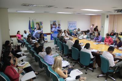 Os 13 Diretores Regionais de Educação apresentaram suas e demandas contribuições para o planejamento do ano letivo de 2018