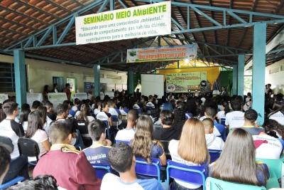 O Seminário de Gestão e Gerenciamento de Resíduos aconteceu nesta terça-feira