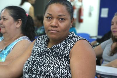 Josiane Maciel dos Anjos diz que a formação contribui para a melhoria do trabalho