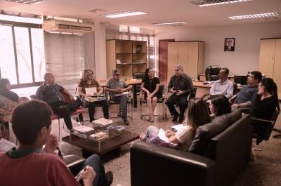 Secretário Glauber reúne com presidentes e representantes de conselhos estaduais vinculados à Seciju.