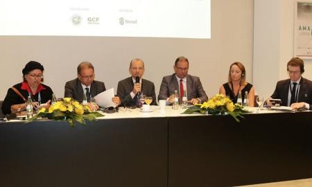 O governador Marcelo Miranda participou do debate que abordou o Desenvolvimento Sustentável da Amazônia e o Equilíbrio Climático