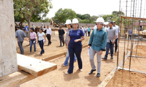 A construção do Prédio do Licenciamento Ambiental é uma das iniciativas do Governo do Tocantins para o desenvolvimento sustentável e avanços na gestão ambiental